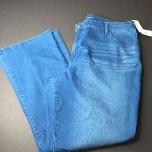 Style & Co Boot Leg Jeans Blue Size 22W
